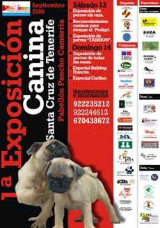 1ª Exposición Canina Santa Cruz de Tenerife