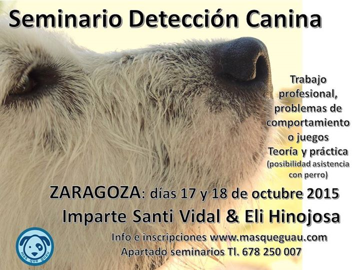Seminario Detección Canina