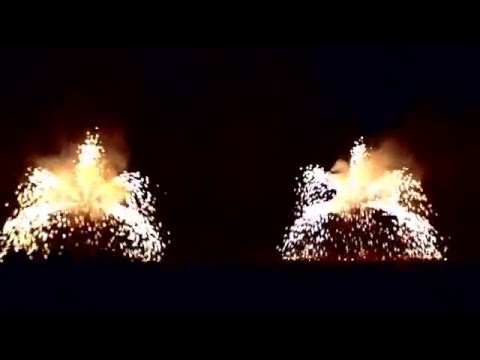 Lanzan en Italia fuegos artificiales sin ruido ni explosiones para no molestar a los animales en festejos navideños