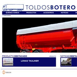 Toldos Botero - Nuevo portal web