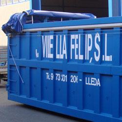 Toldos para contenedores