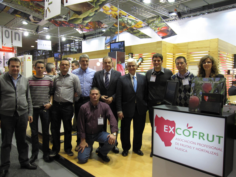 Fruit Logistica 2011 - Visita Consejero Agricultura